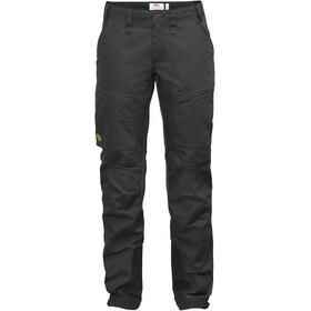 Fjällräven Abisko Lite Trekking Trousers Women Dark Grey